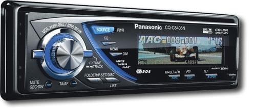 Купить автомобильную магнитолу PANASONIC CQ-C8405N в интернет-магазине ЭЛЬДОРАДО с доставкой и гарантией.