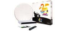 Рубрика.  Аудио Видео Фото. тарелка 90 см, ресивер, карта подключения к радуга тв, кабель, провода.  Другое.