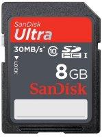 ����� ������ SANDISK ULTRA 8GB SDHC10