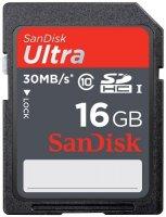 ����� ������ SANDISK 16GB ULTRA SDHC10