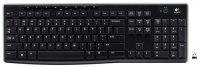 ���������� LOGITECH Wireless Keyboard K270 Black