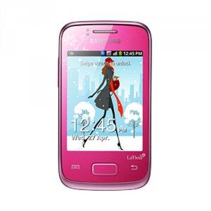 SAMSUNG S6102 Galaxy Y Duos La'Fleur Romantic Pink – купить