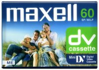������������ MAXELL MiniDV DVM 60