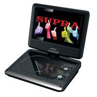 Портативный DVD-плеер.  Русифицированное меню: есть; Аудио: MP3; Аудио: WMA...