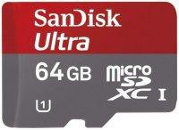 ����� ������ SANDISK Ultra MicroSDXC 64GB UHS-I