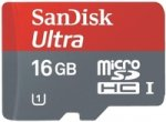 ����� ������ SANDISK SDSDQUA-016G-U46A Ultra Android microSDHC 16Gb Class 10