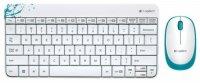 �������� ����������+���� LOGITECH Wireless Combo MK240 White (920-005791)