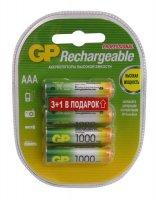 ������������ GP 100AAAHC3/1-2CR4 1000mAh (AAA 3+1 ��)