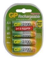 ������������ GP 270AAHC3/1-2CR4 2700mAh (AA 3+1 ��)