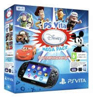������� ��������� SONY PlayStation Vita Wi-Fi + ����� ������ 16Gb + ������ Disney Mega Pack