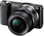 ����������� �� ������� ������� SONY Alpha A5000 Kit 16-50 mm Black
