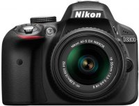 ���������� ����������� NIKON D3300 Kit 18-55 mm VR II Black