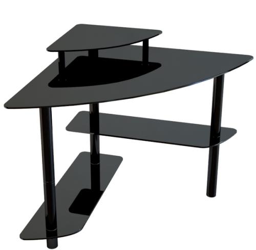 Компьютерный стол из стекла и металла   новгороде