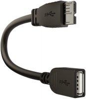 ������ INTER-STEP OTG Micro USB 3.0-USB 3.0 Black
