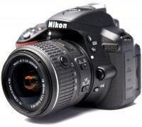 ���������� ����������� NIKON D5300 Kit 18-55 VR II Black