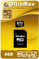 ����� ������ OLTRAMAX MicroSDHC 8Gb Class 10 (OM008GCSDHC10)