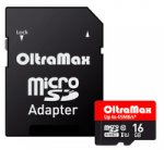 ����� ������ OLTRAMAX MicroSD 16Gb UHS-I(U1)