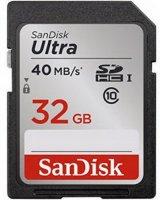 ����� ������ SANDISK SDSDUN-032G-G46 Ultra UHS-I SDHC 32Gb Class 10