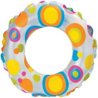 ���� �������� INTEX Lively Print Swim Rings 51 ��. , � ������������ (INT59230NP)