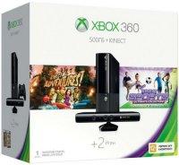������� ��������� MICROSOFT Xbox 360 500Gb + Kinect + Kinect Adventures + Kinect Sports Ultimate