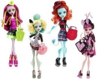 ����� MONSTER HIGH �������� �����, � ������������ (CFD17)