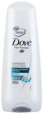 Бальзам-ополаскиватель против секущихся кончиков DOVE Hair Therapy, 200мл.