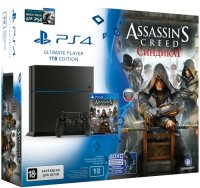 ������� ��������� SONY PlayStation 4 1Tb + Assassins Creed Syndicate + Watch Dogs