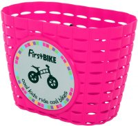������� ��� �������� FIRSTBIKE Basket Pink
