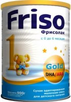 �������� ����� FRISO �������� 1 Gold � DHA/�RA, 0-6 ���., 900 �