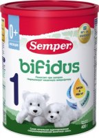 �������� ����� SEMPER Bifidus 1, 0-6 ���., 400 �