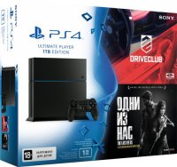 ������� ��������� SONY PlayStation 4 1Tb + Driveclub + The Last of Us Remastered