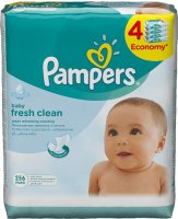 ������� �������� PAMPERS Fresh Clean 4�64 ��, ������� ���� (81551132)