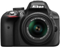���������� ����������� NIKON D3300 Kit 18-55mm VR AF-P Black