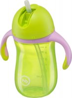 �������� HAPPY BABY Straw Feeding Cup, Lime 14006