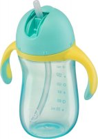 �������� HAPPY BABY Straw Feeding Cup, Blue 14006