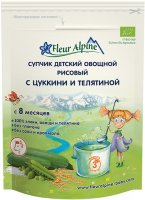 ������� ������ FLEUR ALPINE Organic ������� � ������� � ���������, 8 ���., 24 �