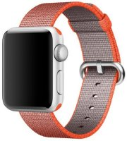 ������� ��� ����� ����� APPLE Watch 42mm, Space Orange/Anthracite Woven Nylon (MNKF2ZM/A)
