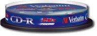���� CD-R VERBATIM 80 52X DL /10 CAKE BOX(10��.)