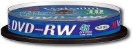 ���� DVD-RW VERBATIM 4.7 GB 4X CAKE (10��.)