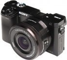 Цифровой фотоаппарат со сменной оптикой Sony Alpha A6000 ILCE-6000LB Black