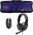 Игровой набор Oklick клавиатура + мышь + наушники HS-HKM100G Imperial