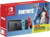 Игровая приставка Nintendo Switch красный/синий + Fortnite