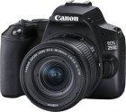 Зеркальный фотоаппарат Canon EOS 250D EF-S 18-55 IS STM Kit Black