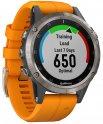 Смарт-часы Garmin Fenix 5 Plus Sapphire Titanium GPS (010-01988-16)