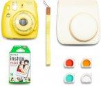 Фотоаппарат моментальной печати Fujifilm Instax Mini 9 Yellow (Purple Star Set)