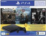 Игровая приставка PlayStation 4 1TB Жизнь после + God Of War + Одни из нас + PS Plus на 3 месяца (CUH-2208B)