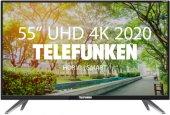 """Ultra HD (4K) LED телевизор 55"""" Telefunken TF-LED55S16T2SU"""