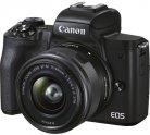 Системный фотоаппарат Canon EOS M50 Mark II 15-45mm f/3,5-6,3 IS STM Black
