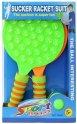 Набор для тенниса 1toy Ракетки с присосками, 2 шт (Т17323)