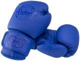 Перчатки боксерские FIGHT-EXPERT BGS-V010, 10oz, синие (УТ-00018226)